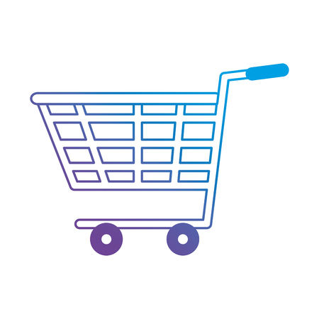 Shopping cart isolated icon vector illustration design.