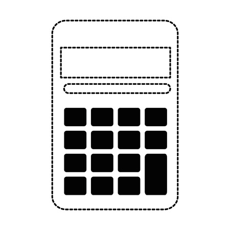 calculator device isolated icon vector illustration design Illustration
