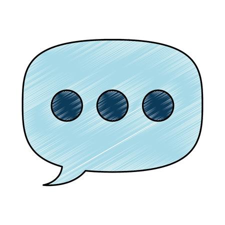speech bubble isolated icon vector illustration design Stok Fotoğraf - 94477436