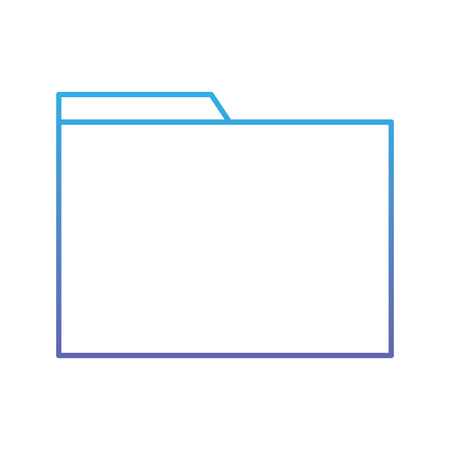 folder file documente archive office technology vector illustration blue and purple line design Imagens - 94481303