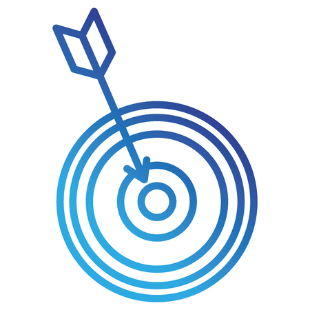 target with arrow icon vector illustration design 일러스트