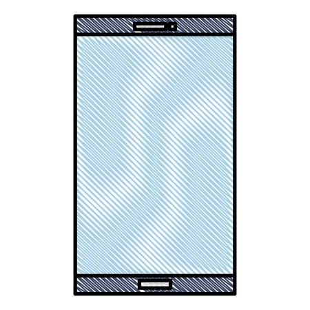Smartphone device isolated icon vector illustration design Stock Vector - 94573602
