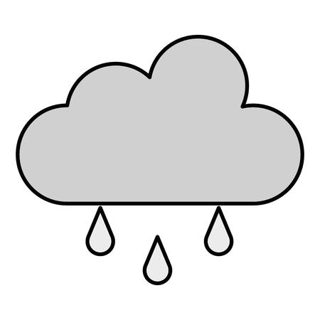 Weather cloud rainy icon vector illustration design Фото со стока - 94578786
