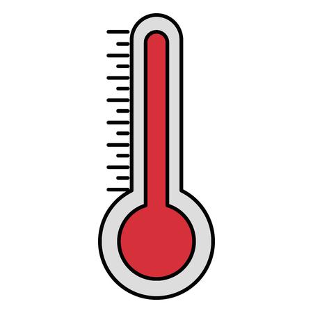 Thermometer for temperature icon vector illustration design Illustration