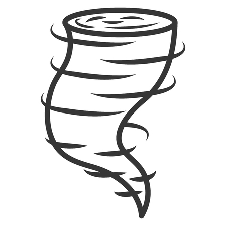 air twister isolated icon vector illustration design Ilustrace