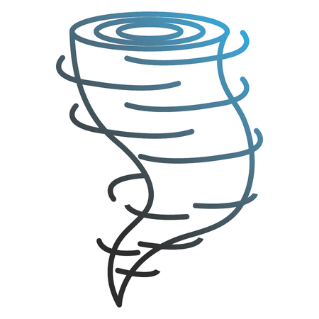 air twister isolated icon vector illustration design Illustration