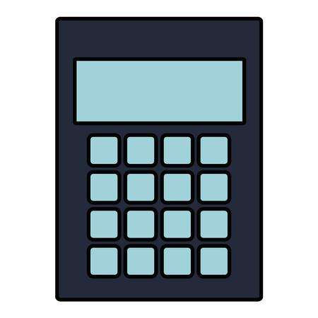 계산기 수학 절연 아이콘 벡터 일러스트 디자인 일러스트