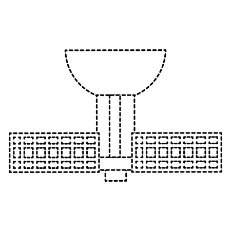 Antena terrestre satélite ícone vector ilustração design Foto de archivo - 94582664