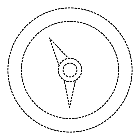 compass guide isolated icon vector illustration design  イラスト・ベクター素材