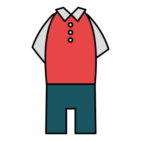 elegant masculine costume icon vector illustration design Stock Vector - 94696379