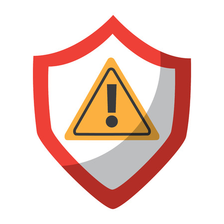 antivirus shield icon image vector illustration design