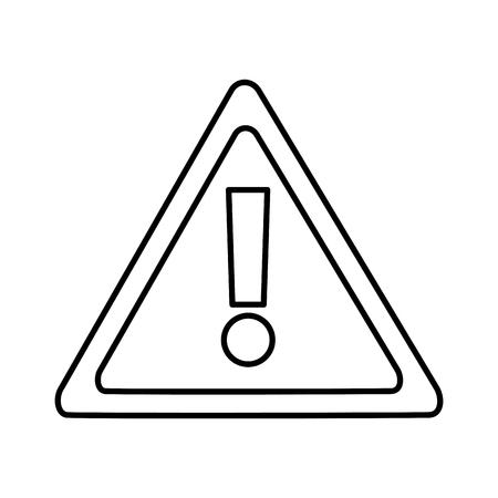 禁止なしアクセス危険アイコンアイコン画像ベクトルイラストデザイン黒線  イラスト・ベクター素材