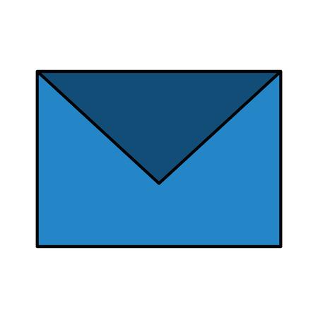 Email envelope message post communication icon vector illustration Illustration