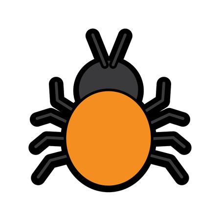 attack by a bug virus entering the system vector illustration 版權商用圖片 - 94842246
