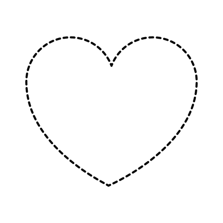 heart love health care medical symbol vector illustration sticker style image