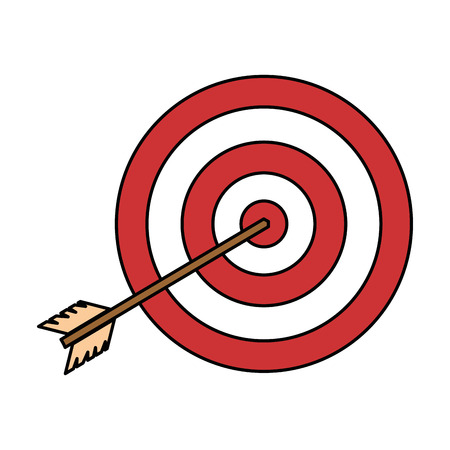 Target with arrow icon Stock Vector - 94889809
