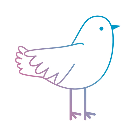dove flying isolated icon vector illustration design Ilustração