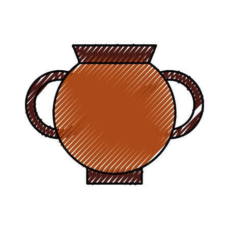 Old museum vase icon vector illustration design Illustration