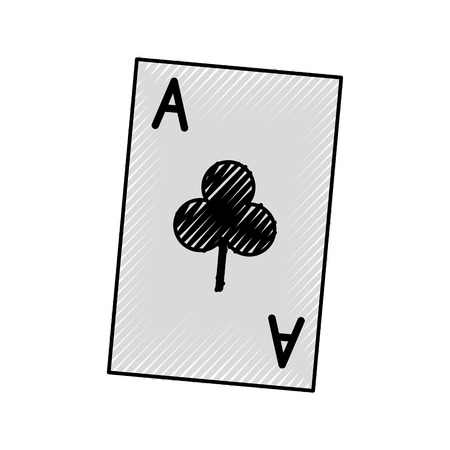 Playing card isolated icon vector illustration design