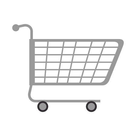 winkelwagen geïsoleerd pictogram vector illustratie ontwerp