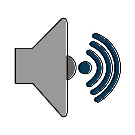 スピーカーの音量アイコン