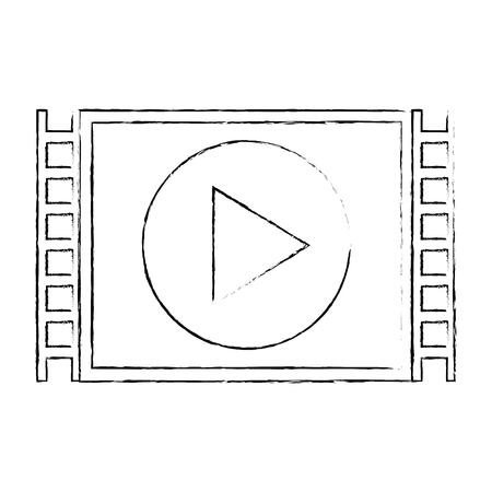 Media player isolated icon vector illustration design.