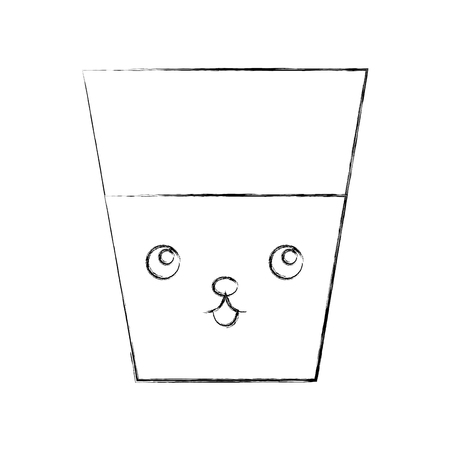 water glass character vector illustration design Imagens - 94936747