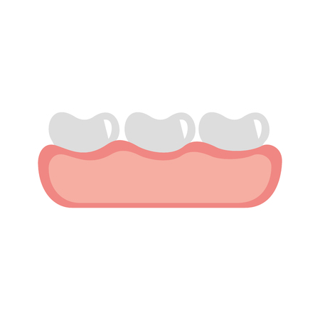 tooth care isolated icon vector illustration design Stock Illustratie