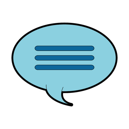 Speech bubble isolated icon vector illustration design.