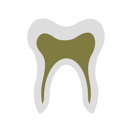 Human tooth isolated icon vector illustration design Stock fotó - 94961273