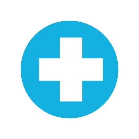 Medizinische Kreuz isoliert Symbol Vektor-Illustration , Design , Standard-Bild - 94942490