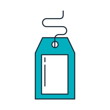 TIquette commerciale isolé icône vector illustration design Banque d'images - 94961543