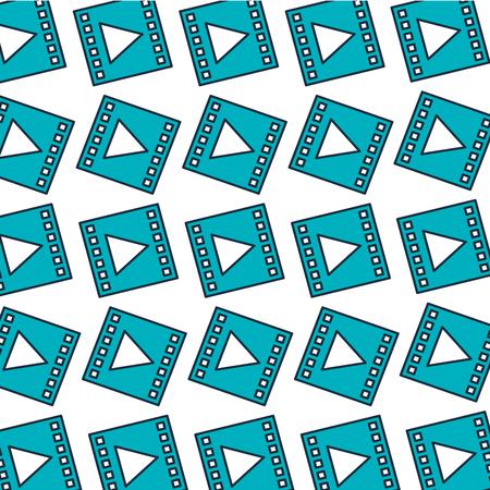 media marketing pattern background vector illustration design