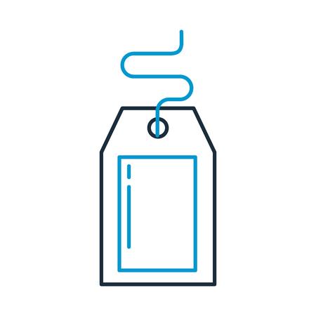TIquette commerciale isolé icône vector illustration design Banque d'images - 94961562