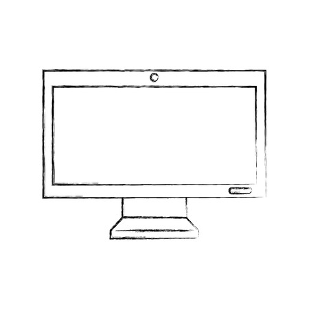 monitor computer isolated icon vector illustration design Reklamní fotografie - 94942926