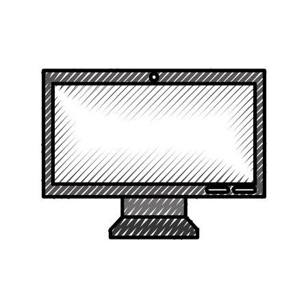 monitor computer isolated icon vector illustration design 版權商用圖片 - 94942741