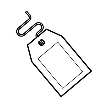 TIquette commerciale isolé icône vector illustration design Banque d'images - 94984035