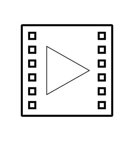 media marketing isolated icon vector illustration design