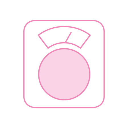 scale balance isolated icon vector illustration design Ilustração