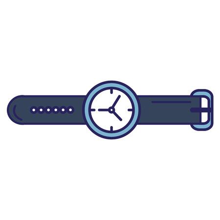 Gestisca la progettazione dell'illustrazione di vettore dell'icona isolata orologio Archivio Fotografico - 94968506