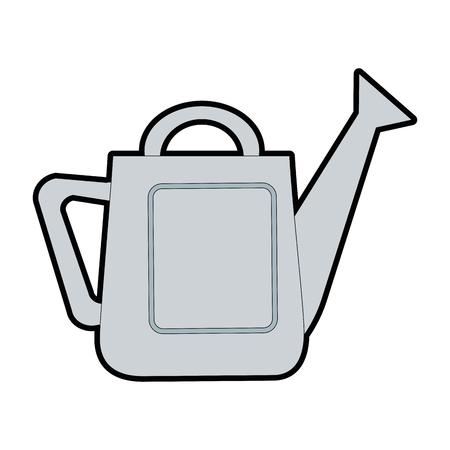 Tuinieren sprinkler geïsoleerd pictogram vector illustratie ontwerp Stock Illustratie