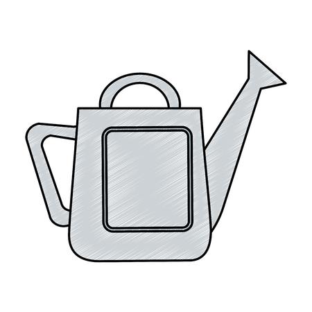 Gardening sprinkler isolated icon vector illustration design Illustration
