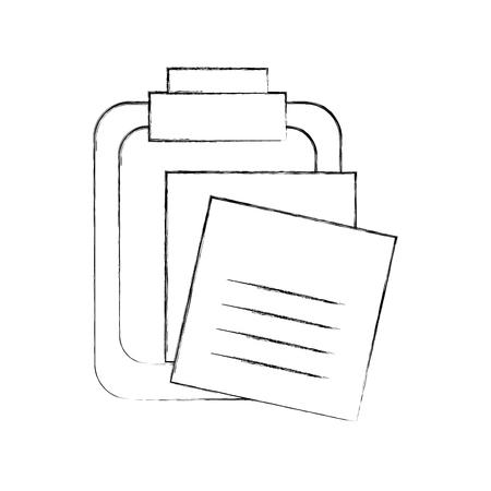 미리 알림 메모 클립 보드 격리 된 아이콘 벡터 일러스트 레이 션 디자인 스톡 콘텐츠 - 94990973