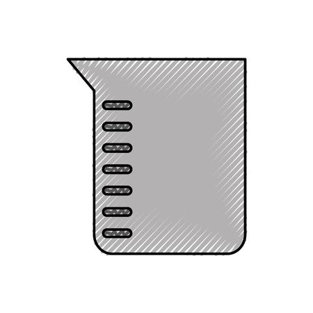 実験室の管試験のアイコンのベクトルのイラストの設計