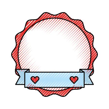 elegant frame casino icon vector illustration design