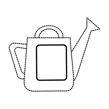 ガーデニングスプリンクラー分離アイコンベクトルイラストデザイン  イラスト・ベクター素材