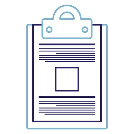 checklist document isolated icon vector illustration design Reklamní fotografie - 95315176