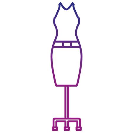Costume élégant femme icône illustration vectorielle conception Banque d'images - 95045739