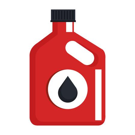 L Auto Flasche Symbol Vektor-Illustration Design Standard-Bild - 95141767