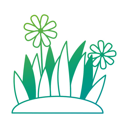 美しい花栽培アイコンベクトルイラストデザイン。  イラスト・ベクター素材